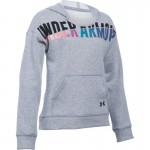 Under Armour mikina Favorite Fleece Hoody - True Gray Heather